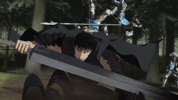 アニメ「ベルセルク」の第2話『聖鉄鎖騎士団』を、場面カットとあらすじで振り返る!