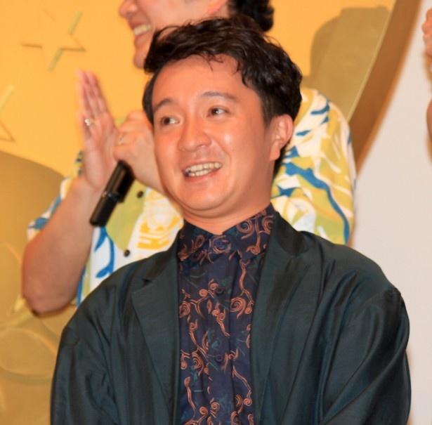 『ONE PIECE FILM GOLD』の初日舞台挨拶に登場した濱田岳