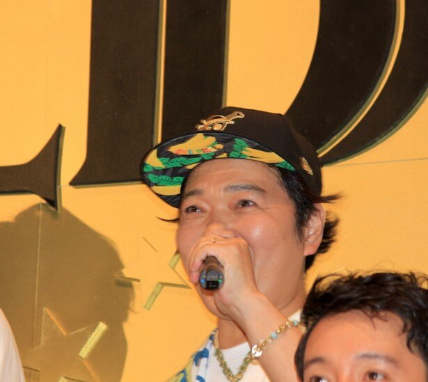 『ONE PIECE FILM GOLD』の初日舞台挨拶に登場した山口勝平