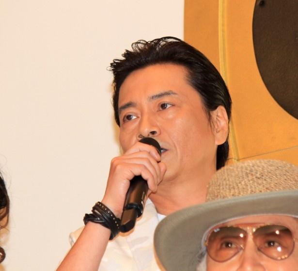 『ONE PIECE FILM GOLD』の初日舞台挨拶に登場した平田広明
