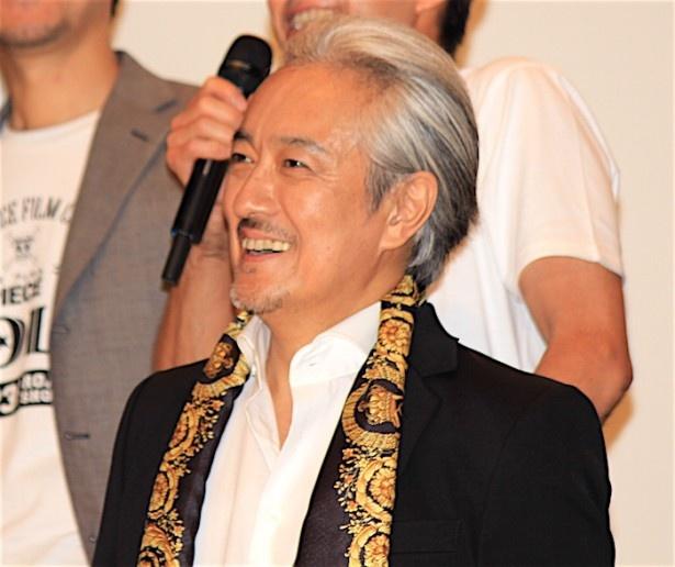 『ONE PIECE FILM GOLD』の初日舞台挨拶に登場した山路和弘