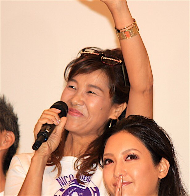 『ONE PIECE FILM GOLD』の初日舞台挨拶に登場した山口由里子