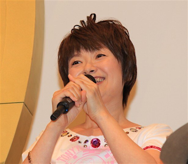 『ONE PIECE FILM GOLD』の初日舞台挨拶に登場した大谷育江