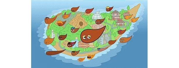 【うんこさんが住む島&全キャラ&グッズ紹介!】ここがうんこさんの住むラッキー島だ