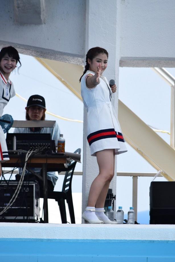 YUKINOはダンスもボーカルもメンバー屈指の実力者