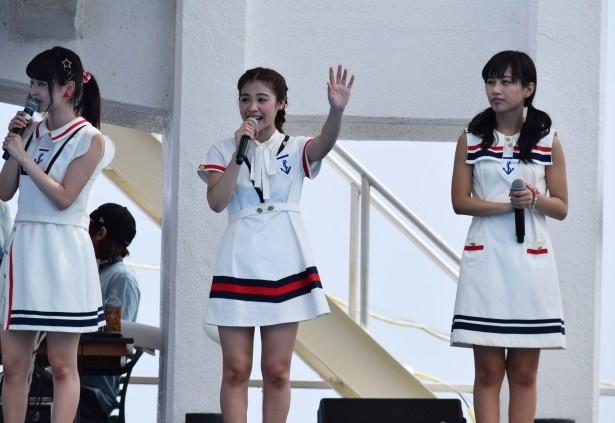 9月7日(水)発売の両A面シングルから「恋のB・G・M~イマハ、カタオモイ~」を披露
