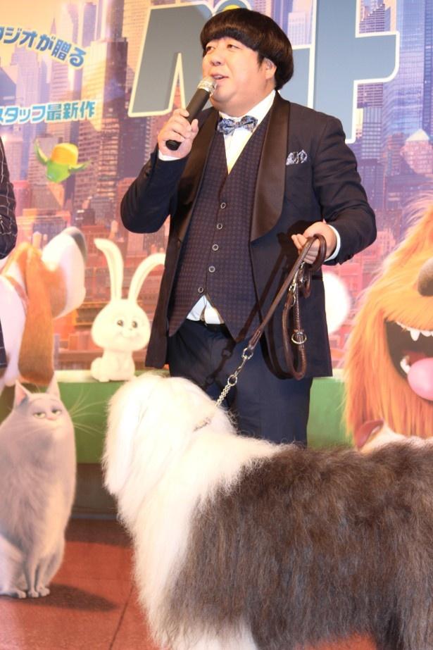 日村勇紀が声を当てたデュークにそっくりなイヌ