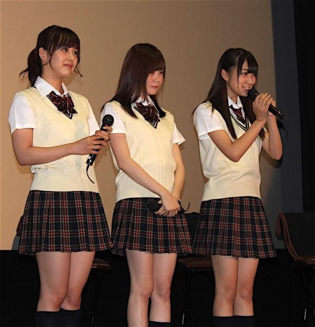 鎌田菜月、谷真理佳、一色嶺奈が細田作品の魅力を愛情たっぷりに語った