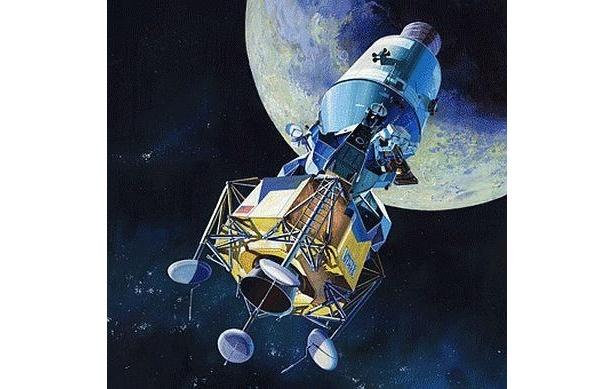 月面着陸40周年を記念して登場! 「1/70スケール アポロ宇宙船」