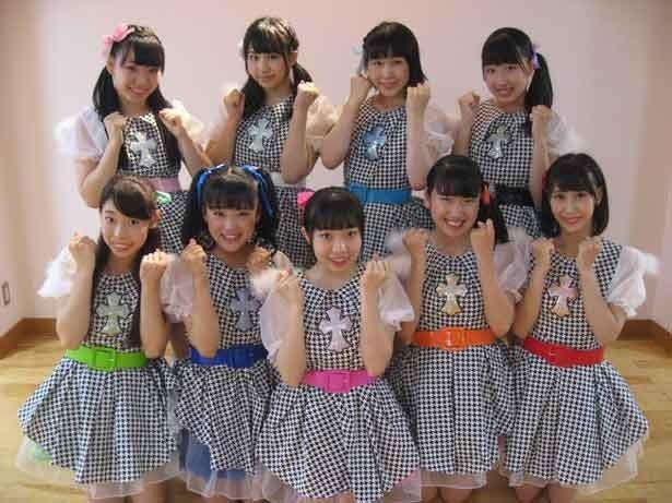 全員アクロバットが出来る9人組アイドル「Jeanne Maria」