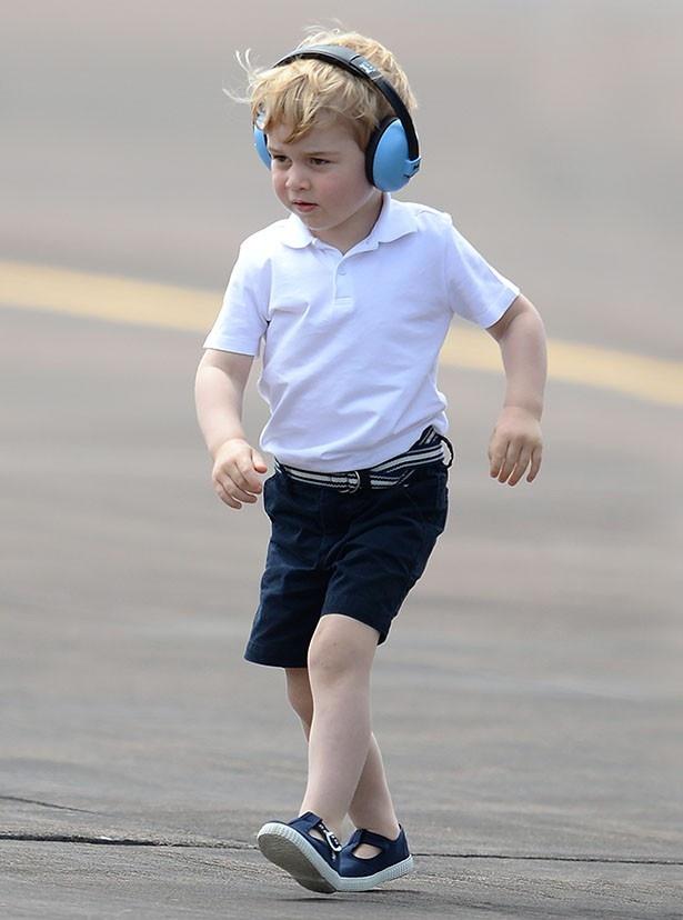 今月22日に3歳の誕生日を迎えたジョージ王子。着ていた服が話題に
