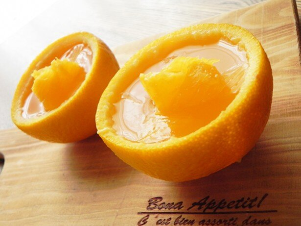 爽やかなオレンジの香りが部屋いっぱいに! 子どもが活躍できる行程が多いので、夏休みにいっしょに作るのにもぴったり