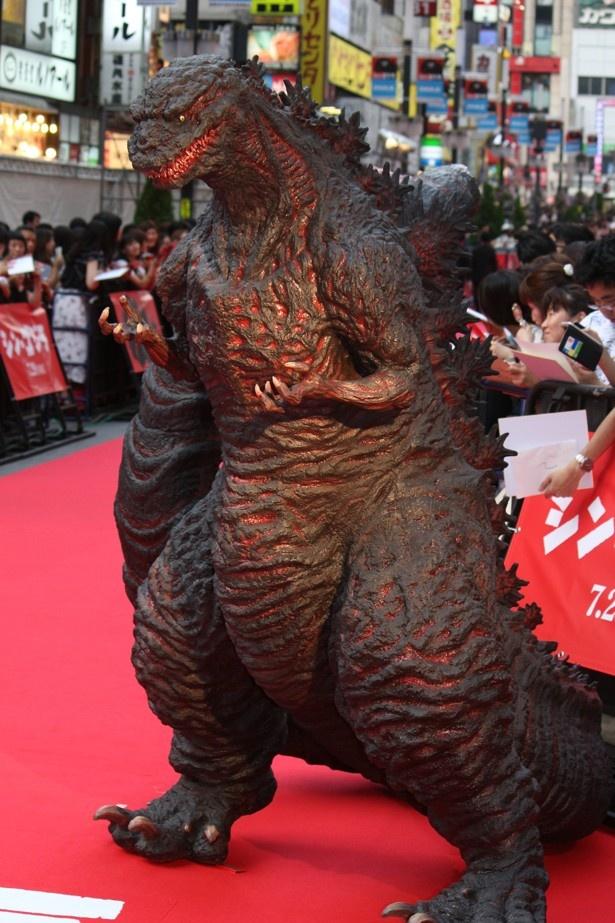 『シン・ゴジラ』のワールドプレミア上映が開催