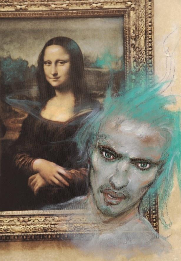 ルーヴル美術館特別展「ルーヴルNo.9 ~漫画、9番目の芸術~」エンキ・ビラル/『ルーヴルの亡霊たち』
