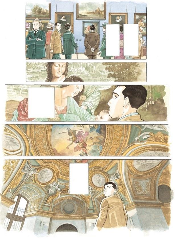 ルーヴル美術館特別展「ルーヴルNo.9 ~漫画、9番目の芸術~」谷口ジロー/『千年の翼、百年の夢』