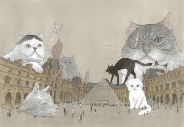 ルーヴル美術館特別展「ルーヴルNo.9 ~漫画、9番目の芸術~」松本大洋/『ルーヴルの猫』