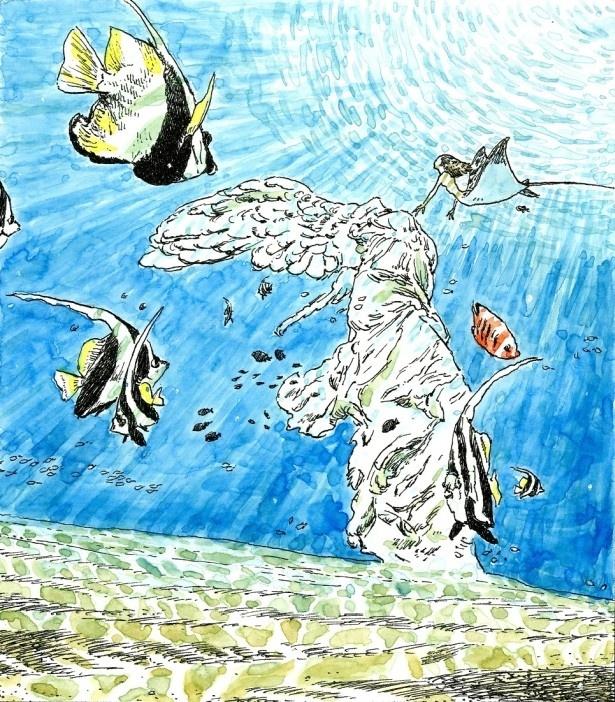 ルーヴル美術館特別展「ルーヴルNo.9 ~漫画、9番目の芸術~」五十嵐大介/『ニケのうた』