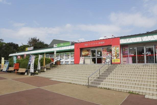 上河内サービスエリアの上り線、スナックコーナーで販売!
