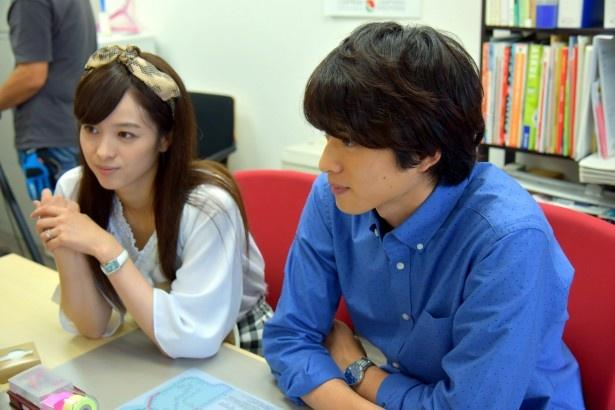 千和と裕は、裕が立ち上げる会社の物件探しに不動産会社へ