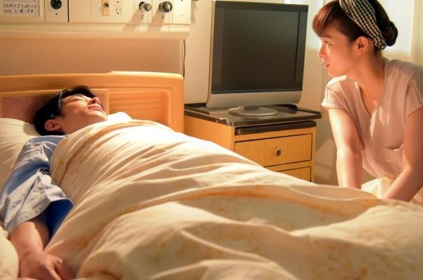 目を覚ました北斗。千和は手を握り締めていた