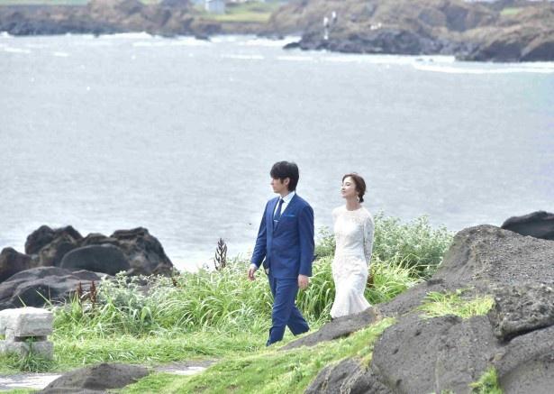 美咲は北斗にホテルのある島内を案内する