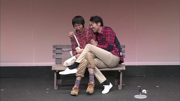 山根お勧めの「友情」では、両方悲しいけど面白い感じの二人に注目