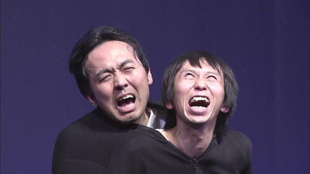 田中が絶賛する「悪霊退散」では、人の服の中に実際入るというあまり見られないネタが披露される