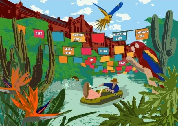 7月30日(土)から8月28日(日)まで横浜赤レンガ倉庫のイベント広場で海外リゾートの雰囲気を楽しめる夏季限定イベント「viva la FARM !! RED BRICK Paradise」を開催