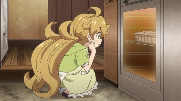 「甘々と稲妻」第4話カットが到着。ピーマンが苦手なつむぎのための料理とは?