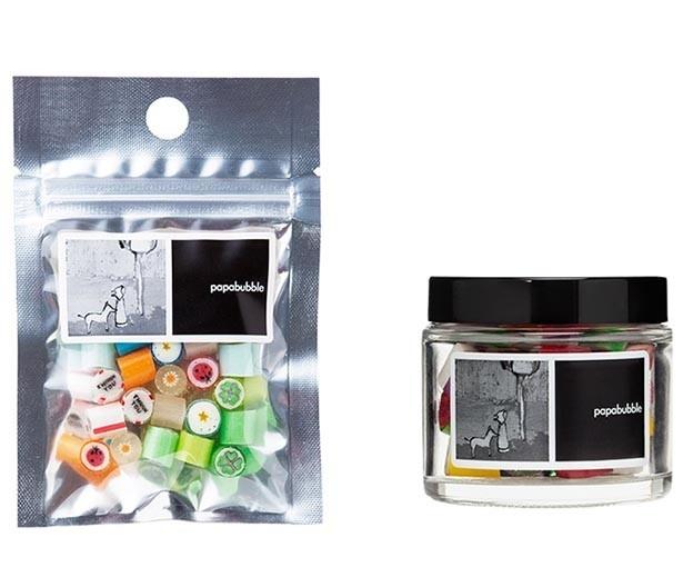 「ハロウィンMIX」 骨ミックス柄のキャンディ 袋530円(税込) 瓶800円(税込)