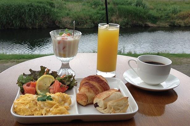 日祝の17:00まで限定のブランチ「Brunch」(1600円)/Kawa Café かわカフェ