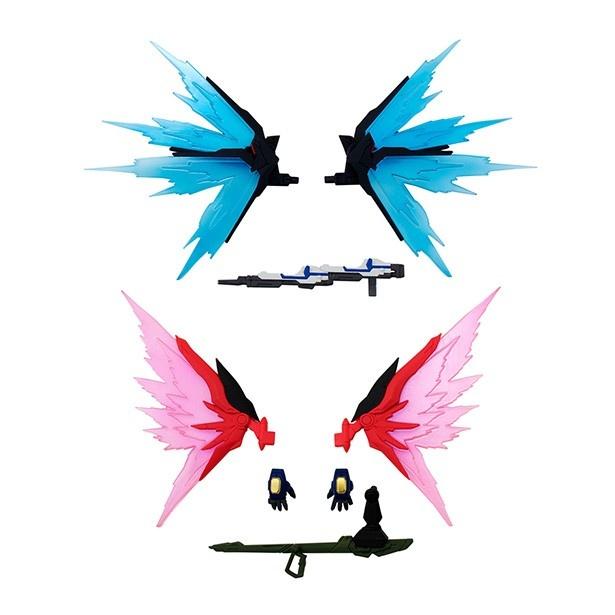 """ストライクフリーダム&デスティニーの""""光の翼""""をこれで再現!"""