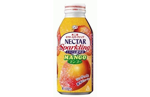 今年5月に発売された「ネクター スパークリングマンゴー」も人気