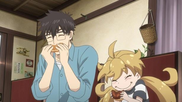 【カット追加】「甘々と稲妻」第5話先行カットが到着。ドーナッツはごはん?おやつ?