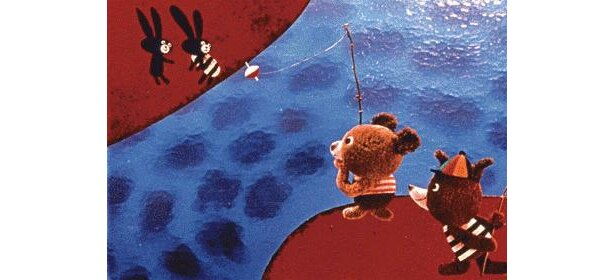 『ぼくらと遊ぼう!』「お魚の話」チェコアニメならではの素朴なタッチがたまらない!