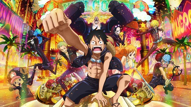 3位の『ONE PIECE FILM GOLD』