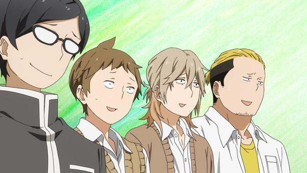 TVアニメ「はんだくん」第5話先行カットが到着。半田を狙う女尊男卑の麗人VS半田軍の行方は!?