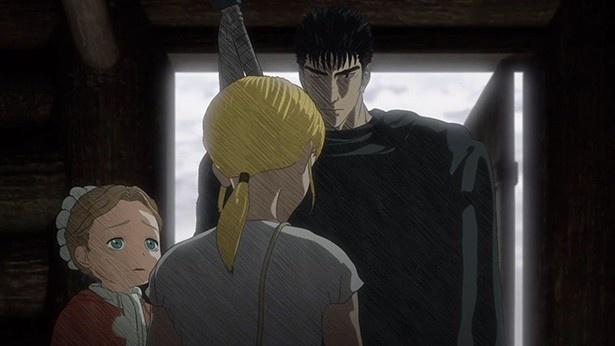 アニメ「ベルセルク」第4話の場面カットが到着。姿を消したキャスカ、そしてガッツの決意とは