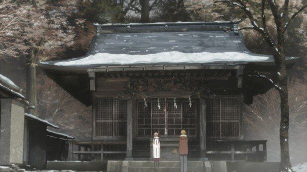 「桜ヶ丘山神社」を訪れた二人は、再び友達になる