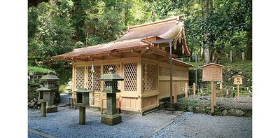 「奥宮」は、一説では約1600年前とされる創建当初に本殿があった場所/貴船神社
