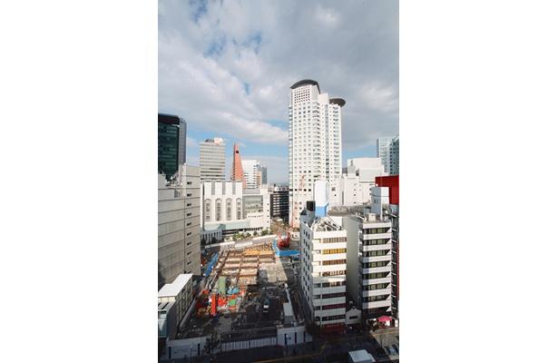 2006年、旧大阪サンケイビルが解体された
