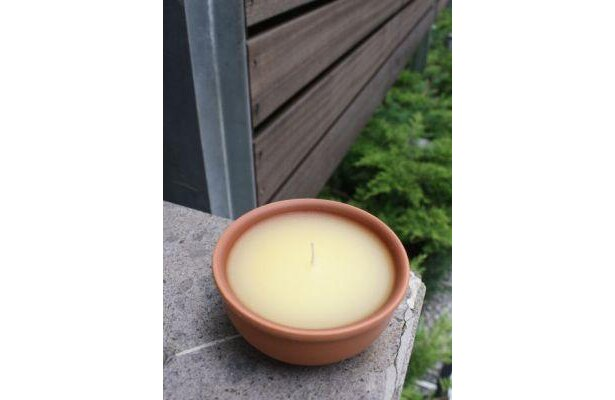 いい香りのアロマキャンドル、実は虫よけ効果ありの優れもの!虫よけキャンドル(1365円/2個)
