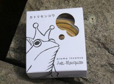パッケージもかわいいアロマ線香。カトリセンコウ(525円)