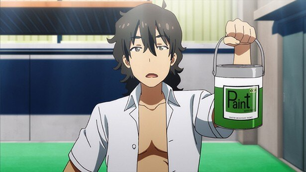 TVアニメ「この美術部には問題がある!」第5話カット&あらすじ解禁。美術部がプール掃除担当に!