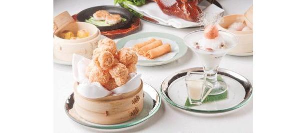 グランドハイアット東京の豪華ディナー