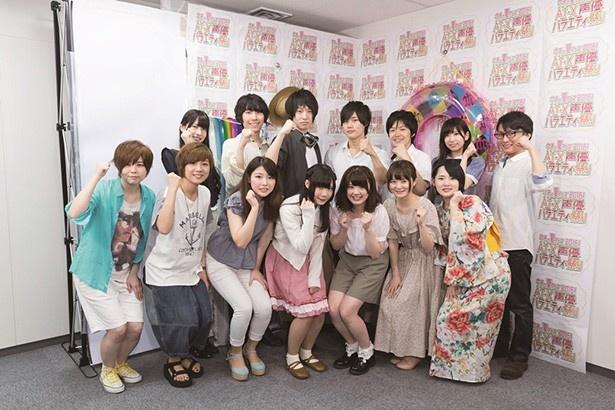 フレッシュなスター声優の卵111人が大集合!AT-X「ウチの夏フェス2016!」CMに大注目!!