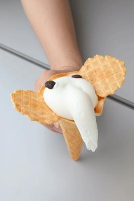 もはやブームといえましょう。象の鼻カフェのゾウノハナソフトクリーム¥350