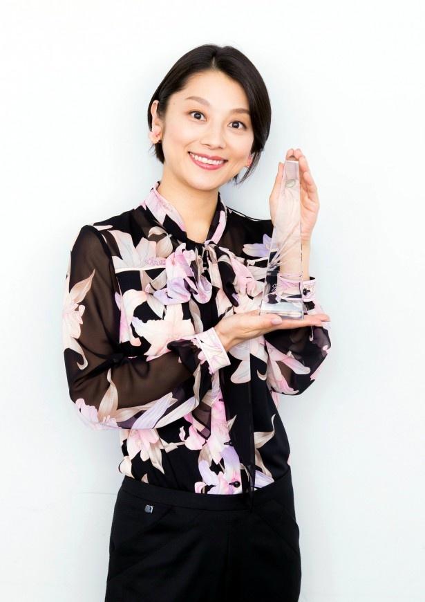 「世界一難しい恋」でザテレビジョンドラマアカデミー賞・助演女優賞を受賞した小池栄子