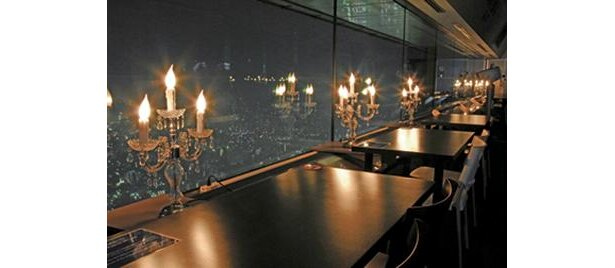 夜景が広がるスカイカフェも「空中すいぞくかん」に行ったら立寄ってみて