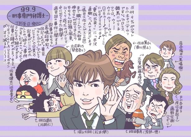 作品賞は松本潤主演「99.9-刑事専門弁護士-」が受賞